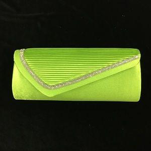 Lime Green Evening Clutch